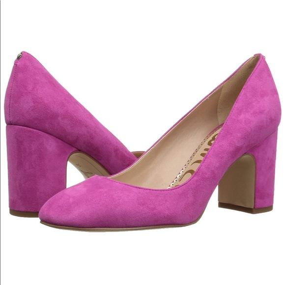 sam edelman heels pink